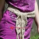 Last Minute Open Weave Belt