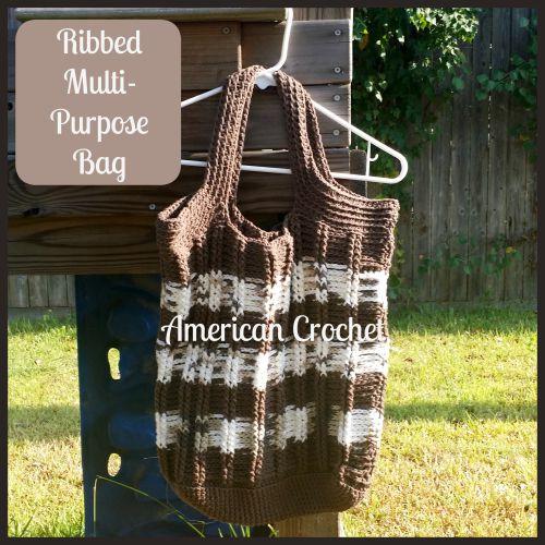 Ribbed Multi Purpose Bag