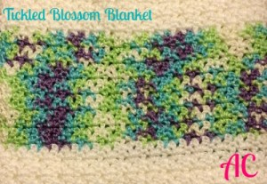 Tickled Blossom Blanket
