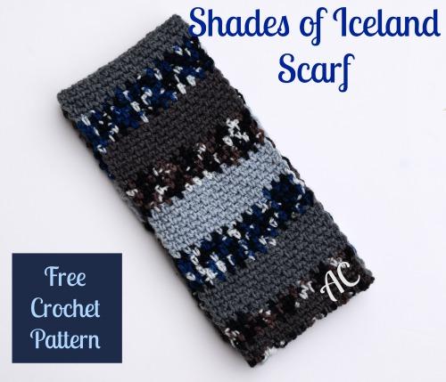 Shades of Iceland Scarf | American Crochet