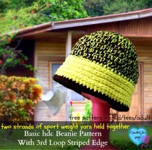 Basic HDC Beanie