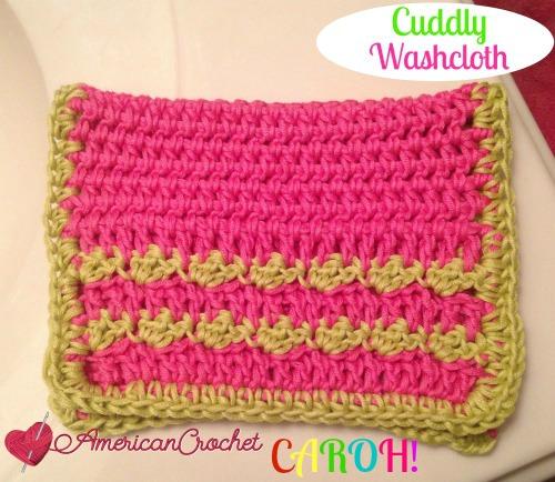 Cuddly Washcloth CAROH