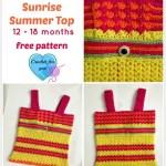 Crochet Sunrise Summer Top
