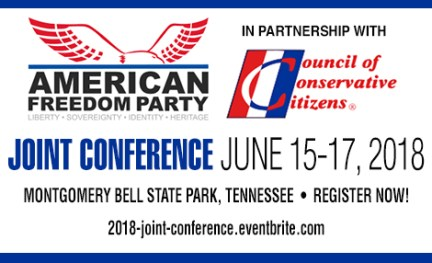 American Freedom Party Conference in Tennessee