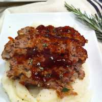 Brown Sugar Meatloaf - Not your Grandma's Meatloaf, but just as amazing!