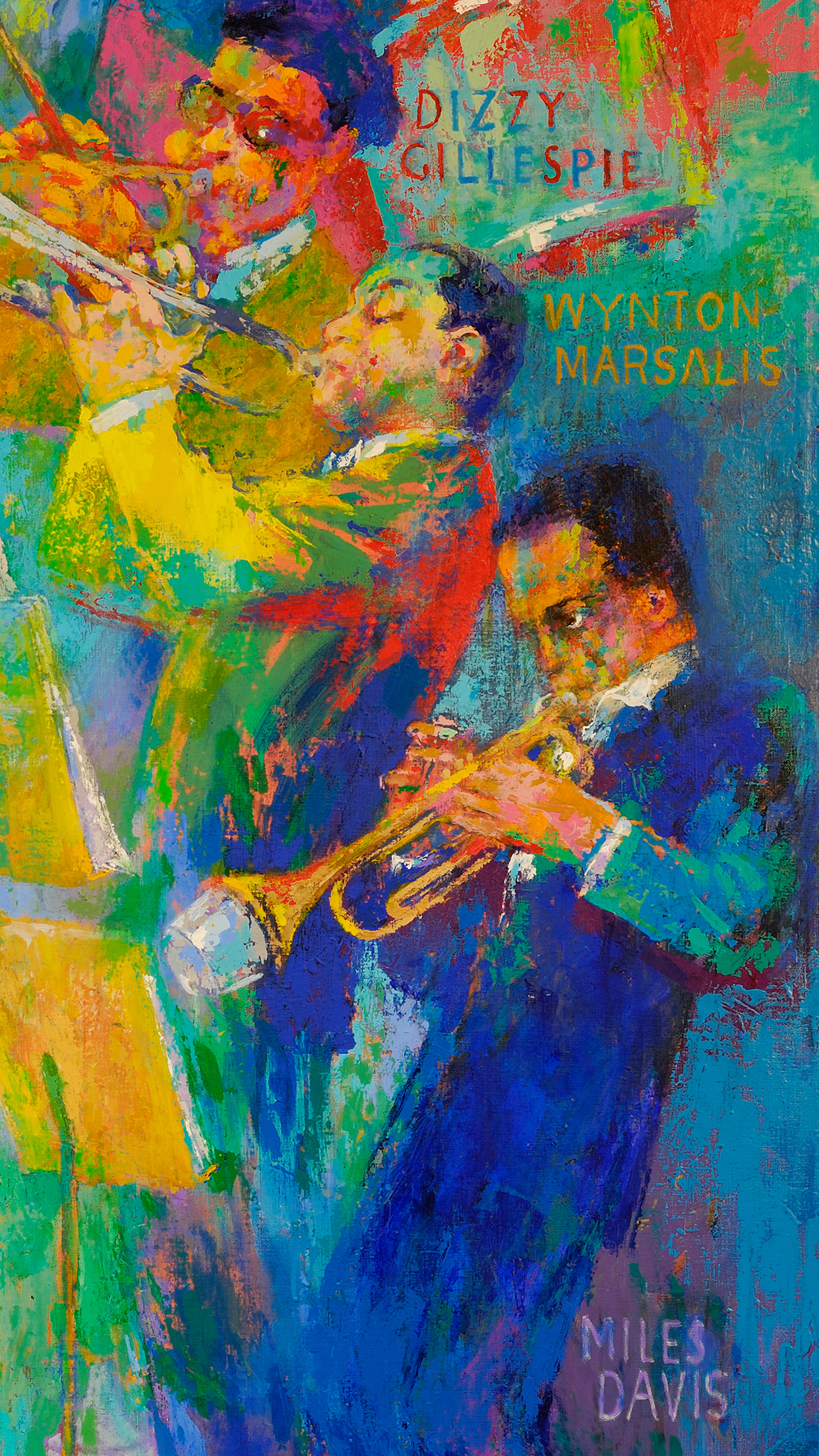 Galaxy S4 Fall Wallpaper Leroy Neiman S Quot Big Band Quot Now On Display National Museum