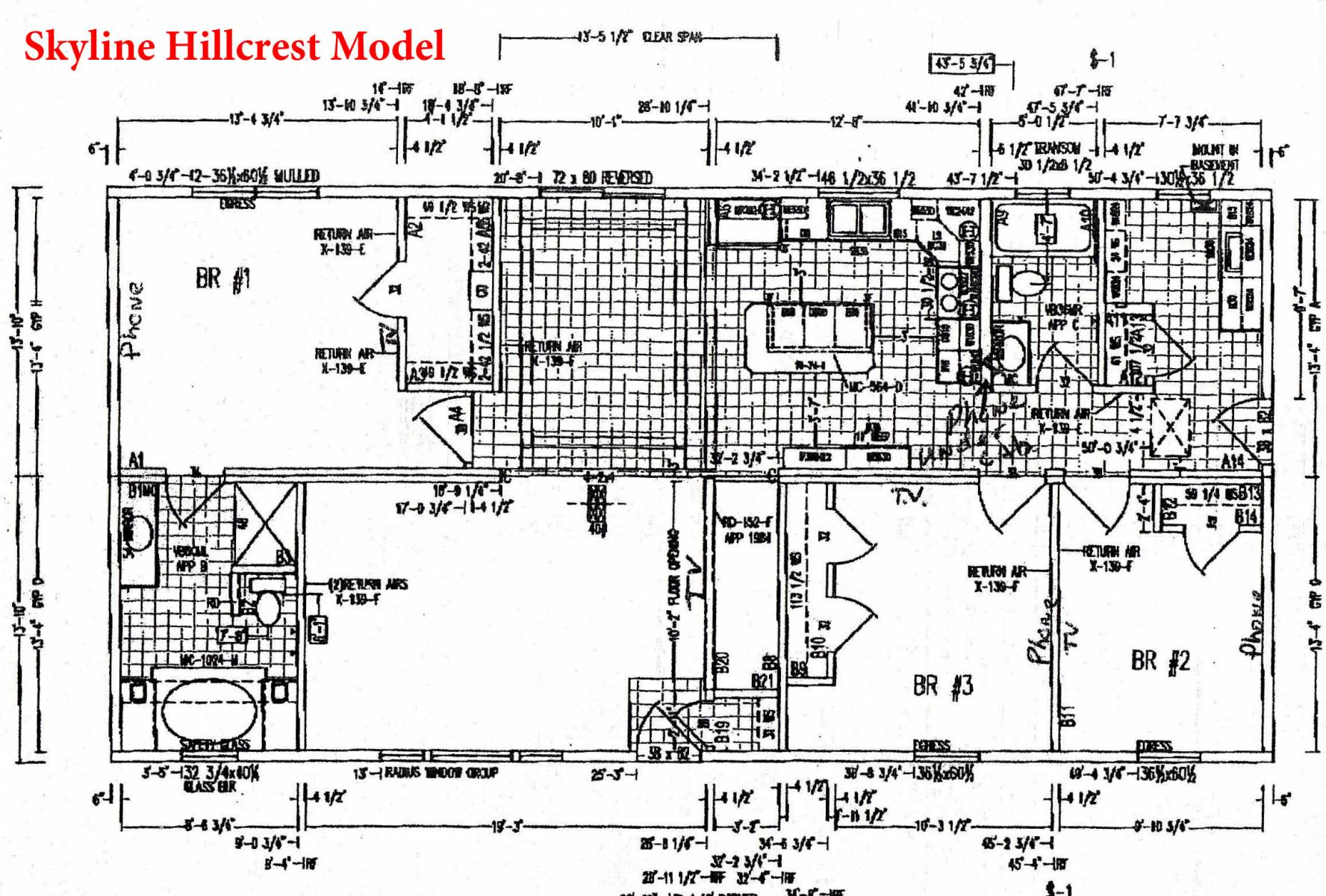 skyline mobile home wiring diagram
