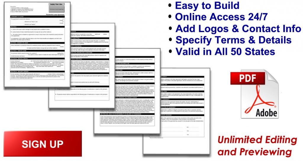 Rental Forms - American Landlord - application rental forms