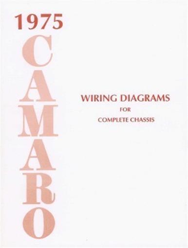 1975 Camaro Wiring Diagram Wiring Diagram