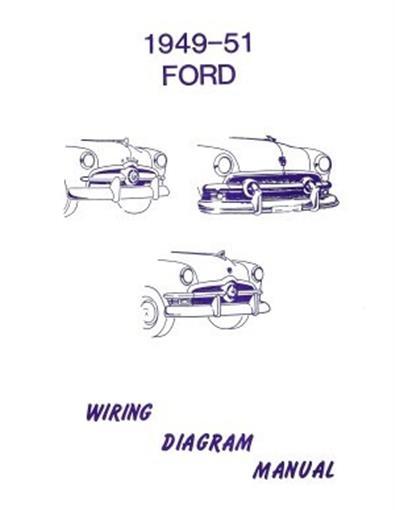 FORD 1949, 1950  1951 Car Wiring Diagram Manual eBay
