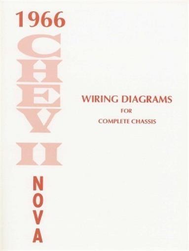 CHEVY II/NOVA 1966 Wiring Diagram 66 eBay
