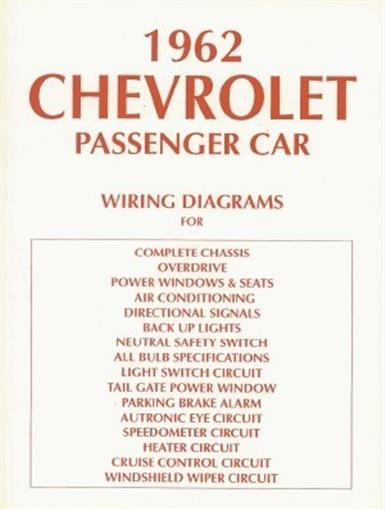 1962 Bel Air Wiring Diagram Wiring Diagram