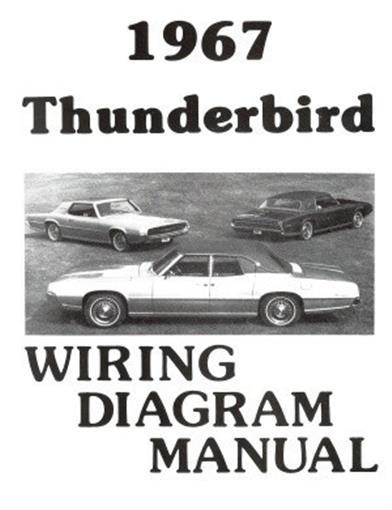 1967 Ford Thunderbird Wiring Diagram Wiring Schematic Diagram