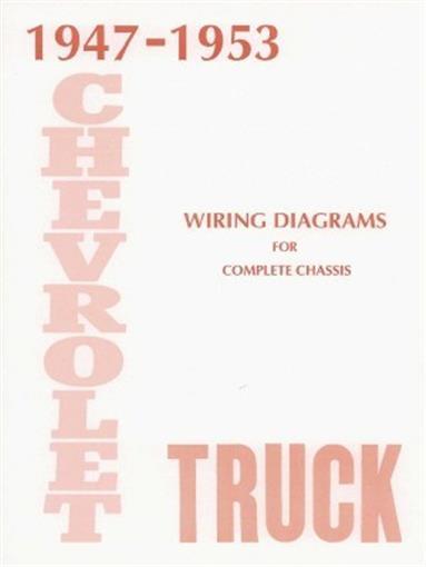 CHEVROLET 1947-1953 Truck Wiring Diagram 47-53 Pick Up eBay
