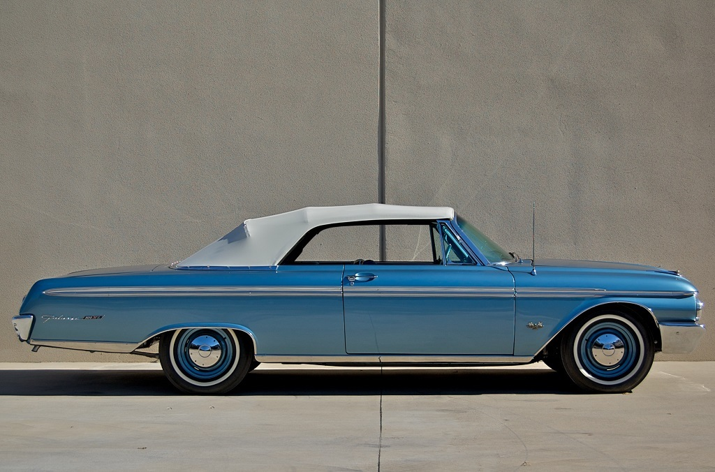 Sunliner 1962 Ford Galaxie 500 Xl Sunliner