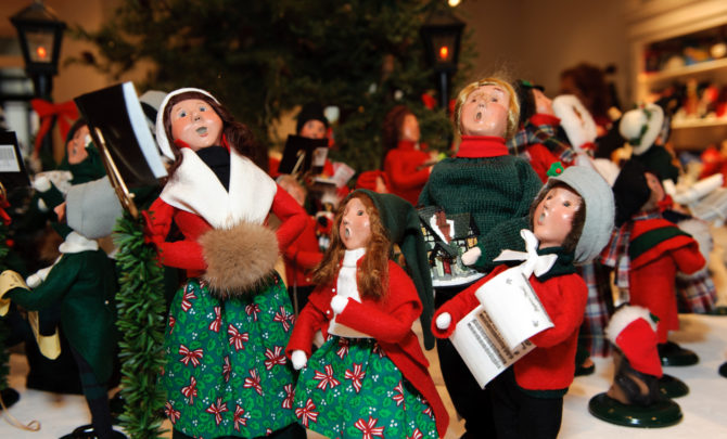 Byers Choice Crafting Christmas Carolers - American Profile - christmas carolers decorations
