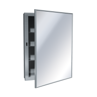 Medicine Cabinet  Surface Mounted, Stainless Steel ...