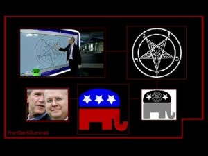 The Republican Party Satanic Pentagrams from 2000