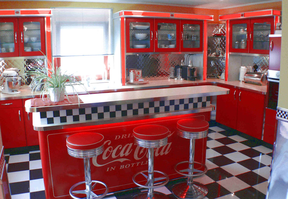 Küche Deko American Style | Jelly Beans, Digital » Kleine ...