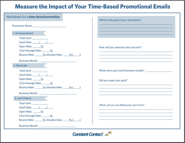 Email-marketing-sales-worksheet - America\u0027s SBDC
