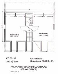AmeriPanel Homes of South Carolina-Cape Cod Floor Plans