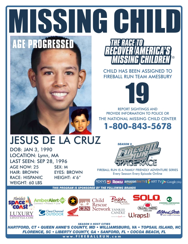 2015 Missing Child Poster Template - Amesbury Chamber of Commerce