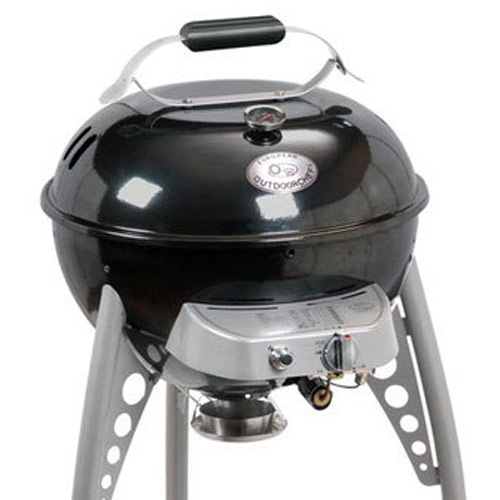 Gasgrill Kugel Outdoorchef Gas - Kugelgrill Delta 480 In Onyx - Grillarena