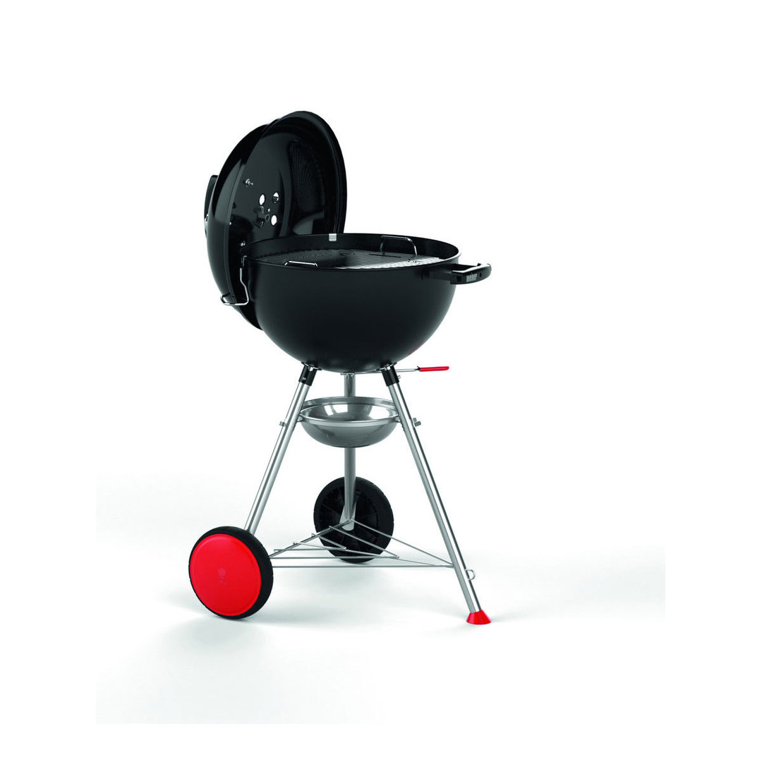 Weber Grill One Touch One Touch Kettle Plus Holzkohlegrill Weber 47cm Schwarz