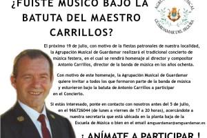 CONCIERTO HOMENAJE A CARRILLOS