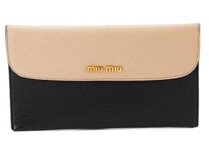 Miu Miuミュウミュウのレディース長財布