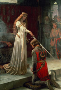 """""""I dub thee, Sir NotBePaid, of the most noble house of FreeLabor."""""""