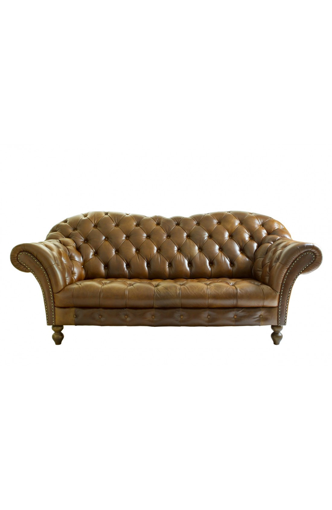 Divano Pelle Beige Leather Sofa Re Clothing