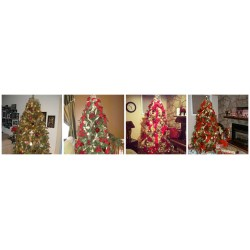 Small Crop Of How To Decorate A Christmas Tree With Ribbon