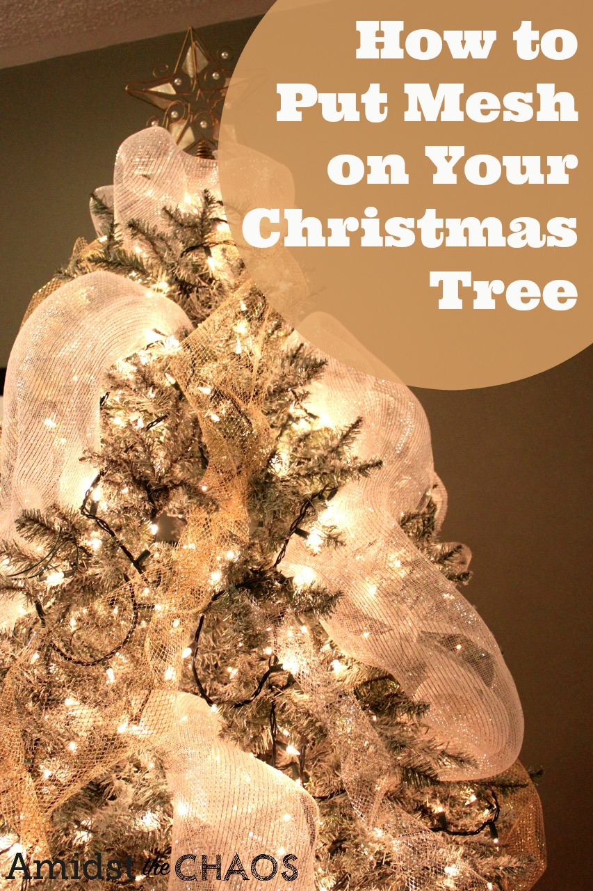 Fullsize Of How To Decorate A Christmas Tree With Ribbon