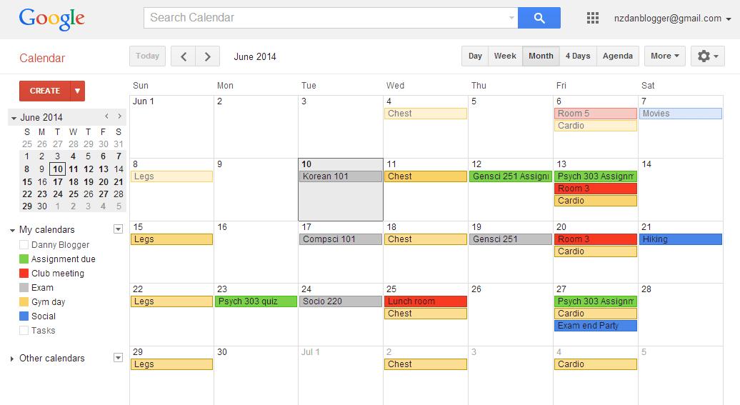Google Calendar Using Google Calendar To Track And Achieve Your Goals