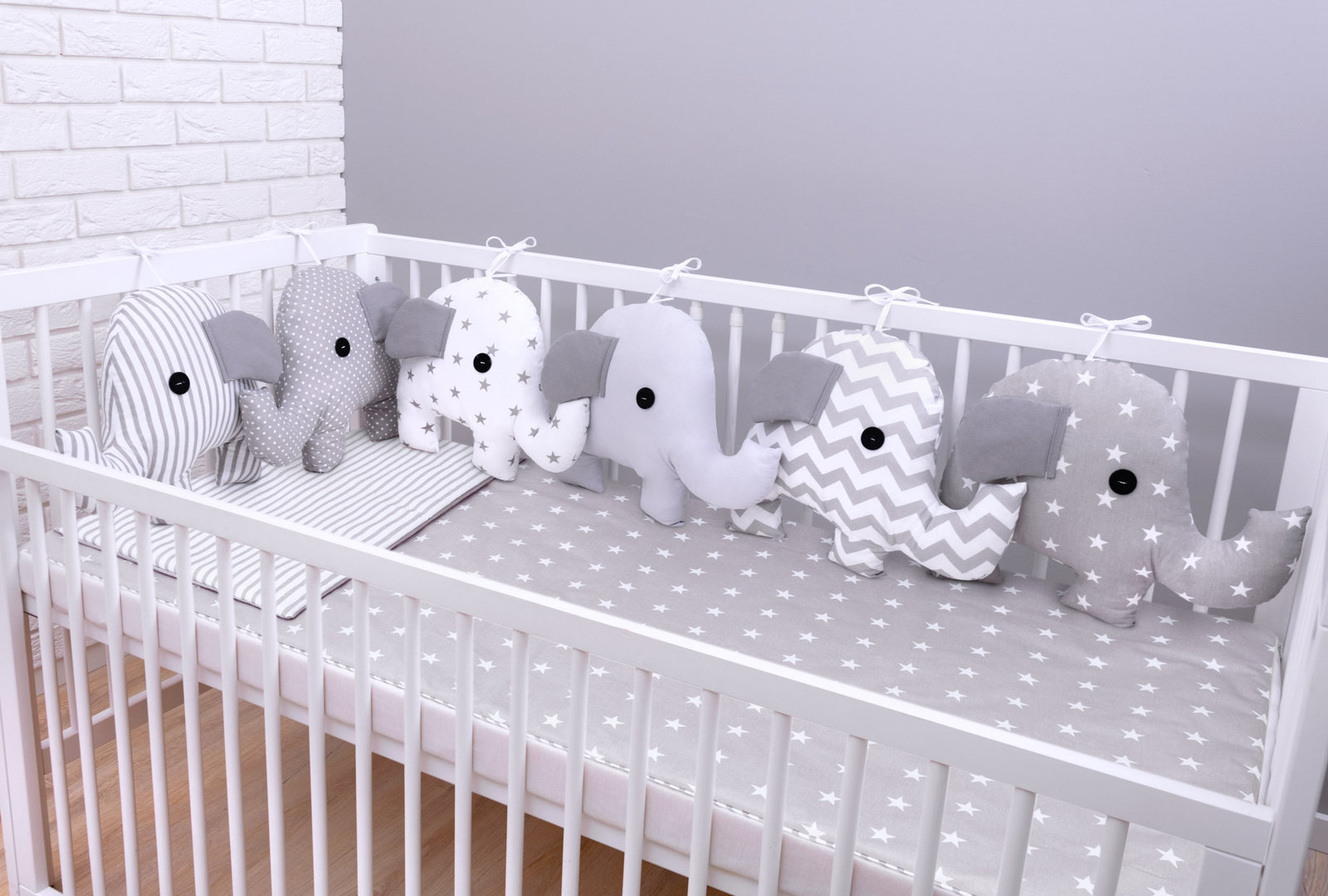 Baby Bettwäsche Design Elefant 05 Bettset 100x135 Amilian