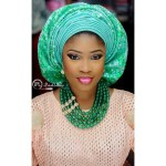 gele style make up by @iposhlooks-amillionstyles