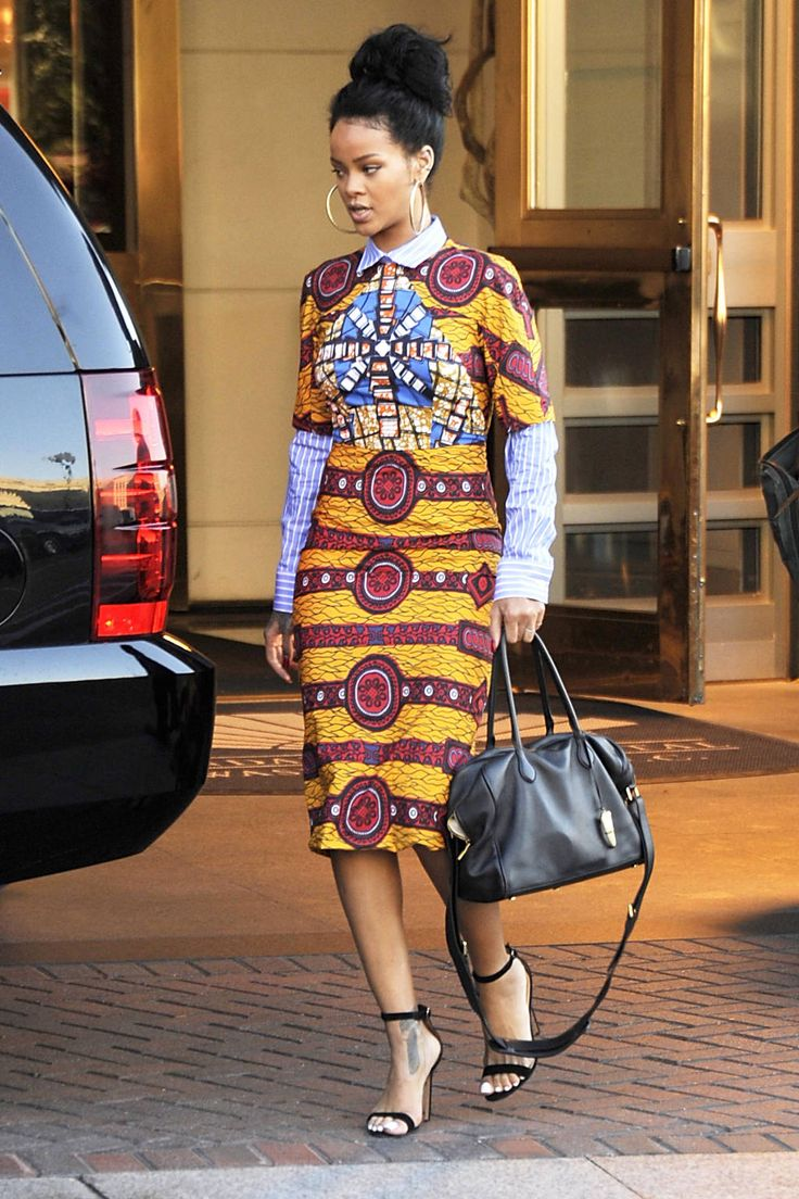 6 Hot African Fashion Pencil Dress For Outing