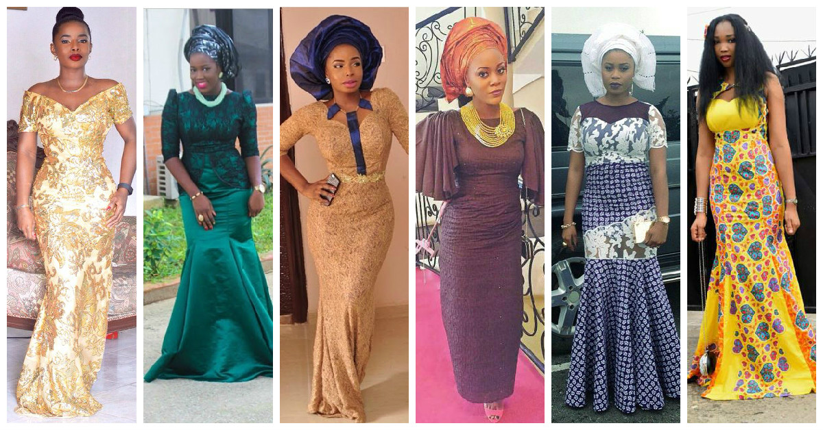 Ladies Latest Style 9 Hot Aso Ebi Designs For July 2015. | Amillionstyles.com