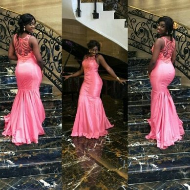 colorful asoebi in lace amillionstyles3