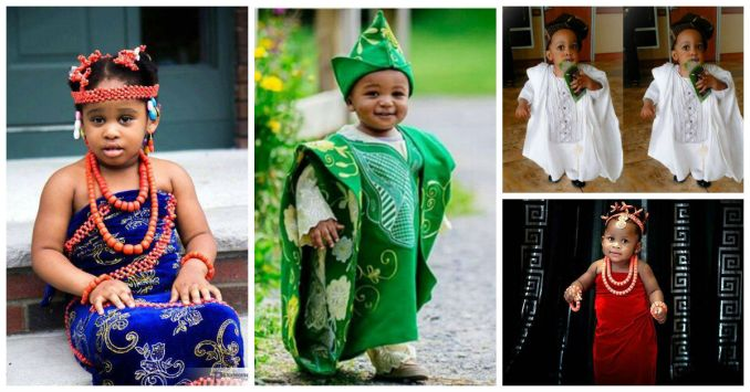 African Kids In Hot Traditional Dressing Cover - AmillionStyles