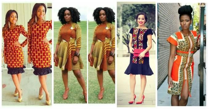 Amazing Ankara Short Gowns - AmillionStyless