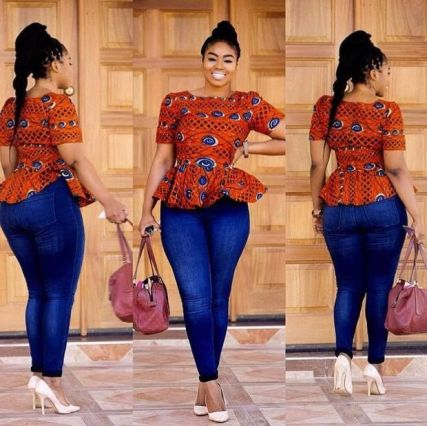 Amazing Ways To Wear Ankara Top Dresses & Look Fab2
