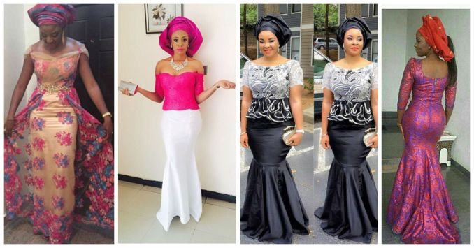 Colorful Asoebi In Lace Lookbook 9 - Amillionstyles Cover