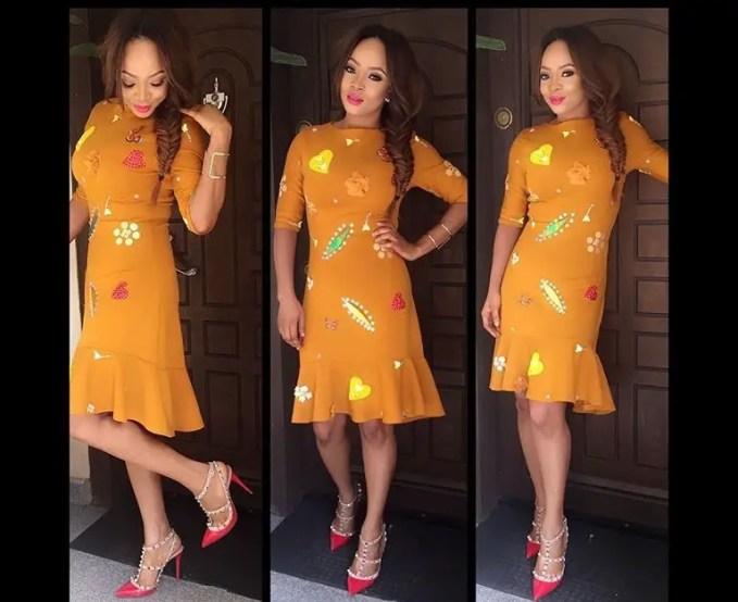 Amazing casual from dress Toke Makinwa3