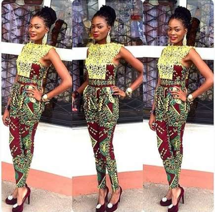 ankara-jumpsuit for ladies