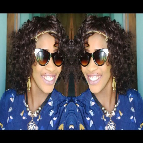 10 Amazing Curly Hairstyles amillionstyles.com @temmie2cuttie