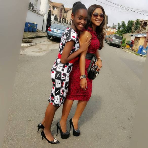 Stunning Outfit For Mother and Daughter amillionstyles.com @mercyaigbe