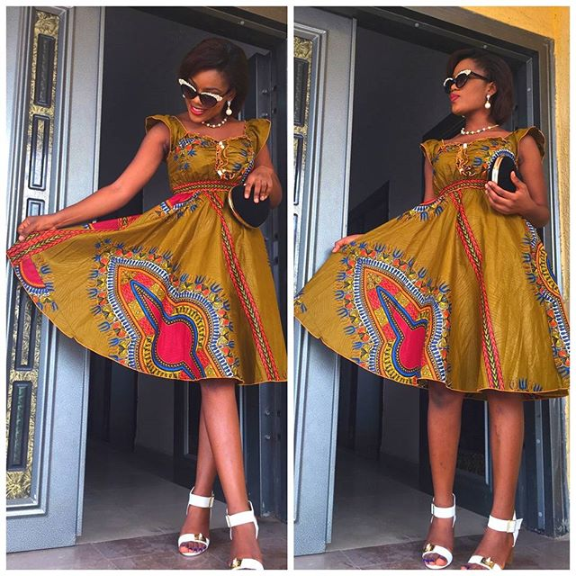 Ladies Latest Style A Million Styles Africa End Of The Year Ankara Styles 2015