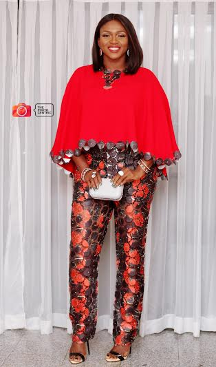 waje dazzles in red amillionstyles.com fifty